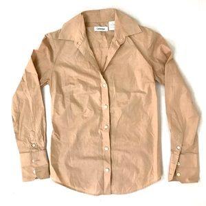 Calvin Klein Button Down Blouse - Size XS